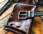 THE GAMBLER Custom Leather Hip Bag