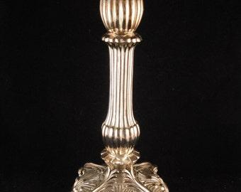 Vintage metal candle holder