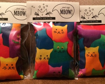 Just Say Meow! Organic Catnip Pillows
