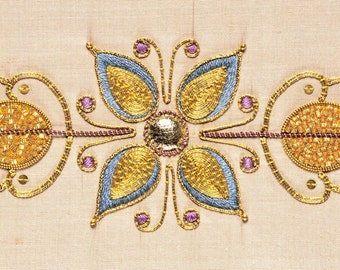 Goldwork Kit - SUMMERS GLOW