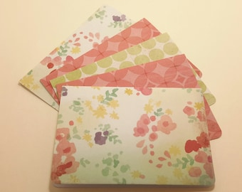 Garden Delight/ blank note card set