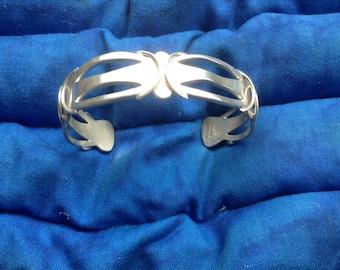 Vintage Mexican Silver Bracelet
