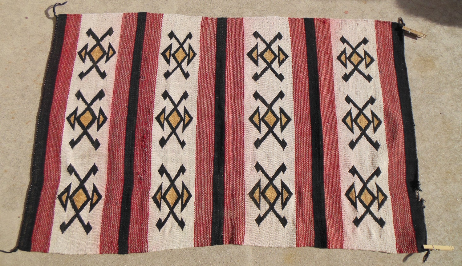 Antique Navajo Rug Antique Native American Rug Shabby Chic