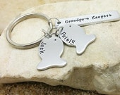 Keychain - Accessories - Grandpa Gift - Fishing - Fishing Keychain - Fathers Day - Grandpas Keepers - Hypoallergenic - Outdoorsman
