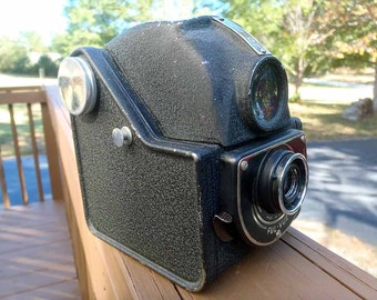 Ensign Ful-View Camera TLR style camera United Kingdom film camera 120 film-WORKS PERFECTLY