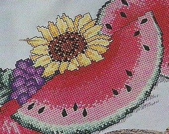 Leisure Arts Sunflowers and Snickerdoodles Counted Cross Stitch Patterns Charted Designs