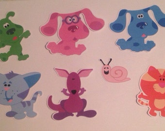 Blue's Clues Die Cuts