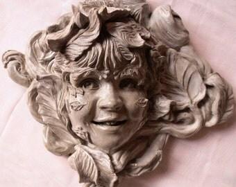 Greenchild Greenman Sculpture Brings Joy to Your Home & Garden