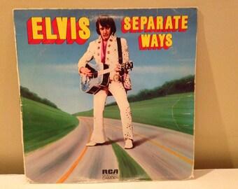 "Elvis ""Separate Ways"" vinyl record"