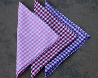 Pocket Squares (3 Pack)
