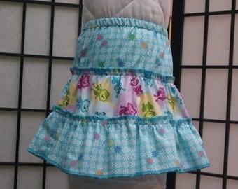 1T 3 Tier Skirt, Cotton Skirt