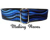 Making Waves Dog Collar