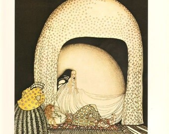 Kay Nielsen, East of the Sun West of the Moon ,  Antique / Vintage Art Print, Illustration Art