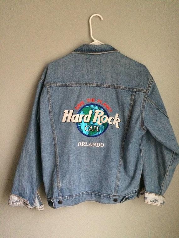 Hard Rock Cafe Orlando Denim Jacket