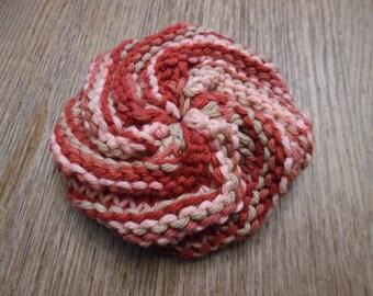 Tawashi Scrubbie, Handmade Tawashi Scrubbie, Handknit Tawashi Scrubbie