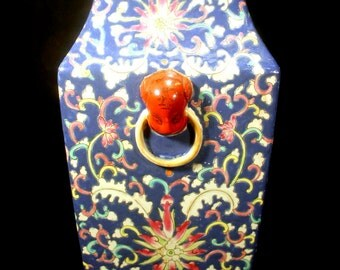 Antique 19th Century Chinese Vase Qing Dynasty