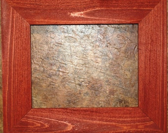 2.5 inch Barn Red Cypress Picture Frame