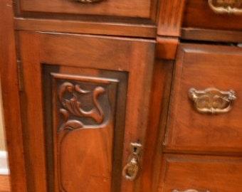 Dresser/Buffet Edwardian (Earlly 1900's)