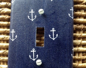 Anchor switch plate