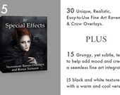 JD Special Effects: Nevermore Raven overlays and bonus textures