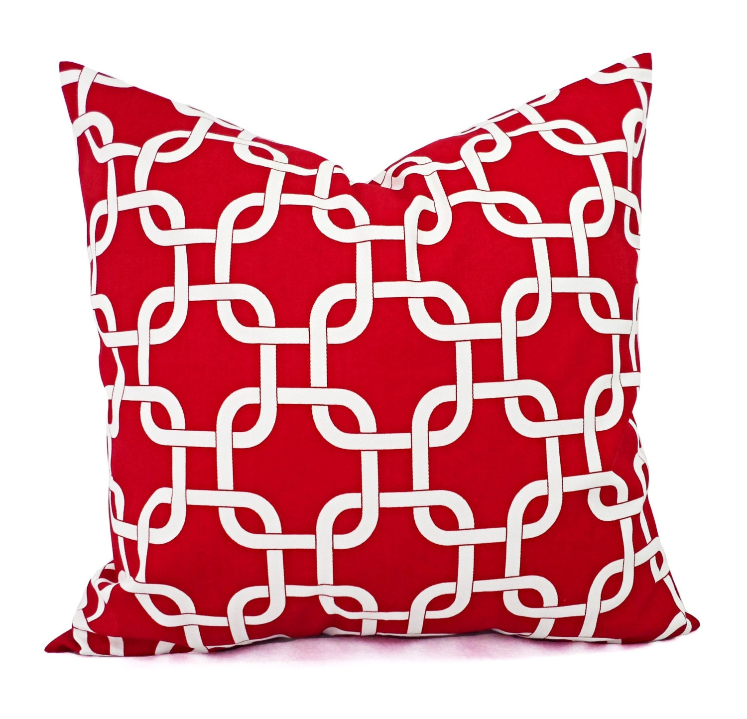 Red And White Throw Pillow Covers : Two Red Pillows Red Pillow Cover Pillows Red Pillow