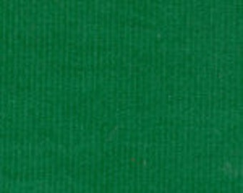 HALF YARD Kelly Green Corduroy Fabric Finders Cotton Fabric