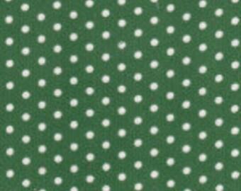 HALF YARD Green Dot Corduroy Fabric Finders Cotton Fabric