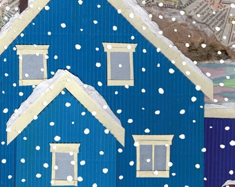 House In Winter (Card)