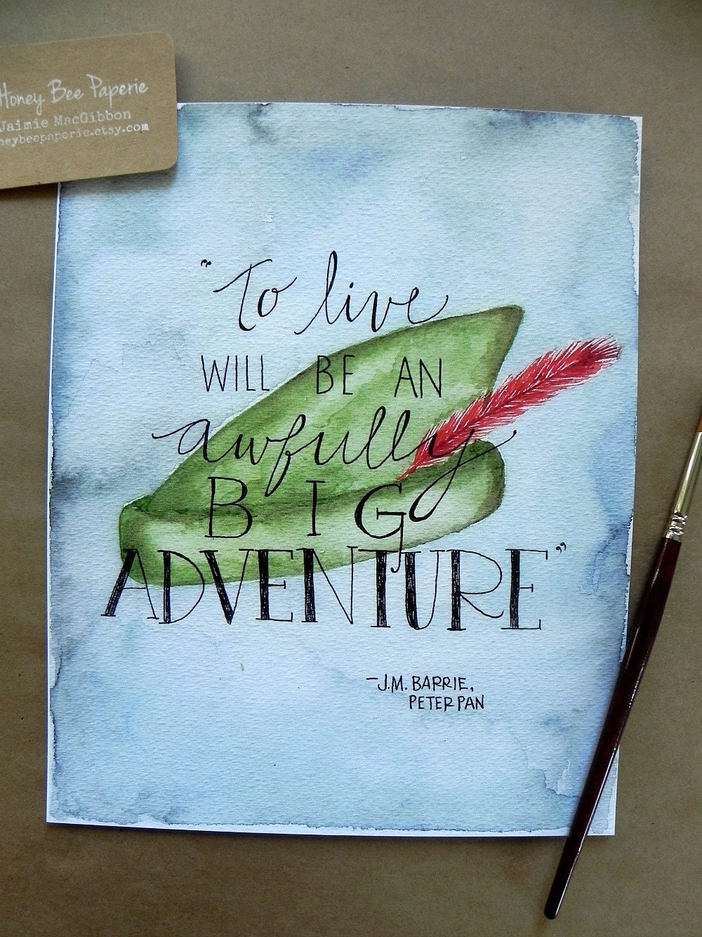 Peter Pan Art Children S Art Print Peter Pan Quote