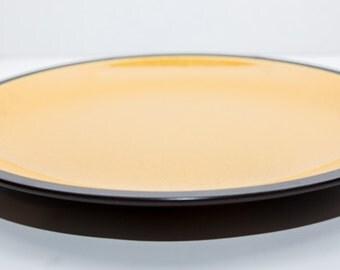 Mikasa Terra Stone Coupe Saffron Chop Plate
