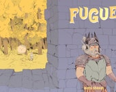 Fugue - A short and fantastical story about a strange land in which an ancient god appears and wreaks havoc