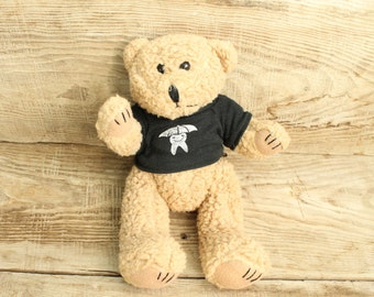 Vintage Teddy Bear ... Collectible toy ... Shaggy Hair Teddy Bear. Plush Teddy Bear. Stuffed Bear Stuffed Animal. Scraggies Bear.
