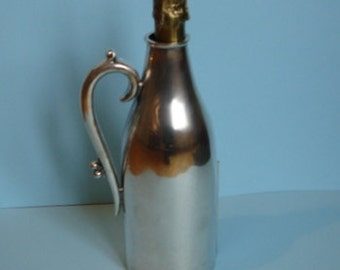 Silver Plated Bottle Jacket - Late 19th Century