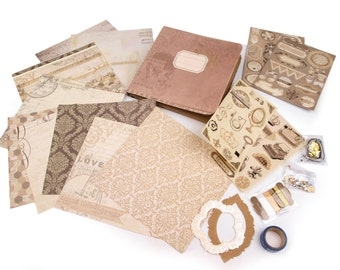 Scrapbooking Kit, Vintage (1100)