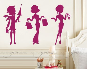 Teen Girl Wall Decal Etsy - Wall decals for teenage girl