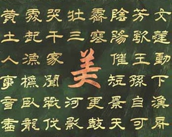 Chinese Wallpaper Stencil - Allover Stencil for Painting