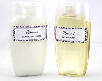 Almond Set, Shampoo & Mask-Balsam