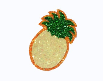 10% off with the code BDAY10  Rockabilly Pineapple Glitter Hair Clip