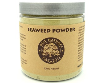 Organic Seaweed Kelp Powder Can Be Used In Face Masks