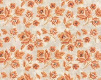 OOAK#248 - 20 x 44 -   Persimmon Marshmallow Pumpkin Cream Fabric by Basic Grey - 30380 11