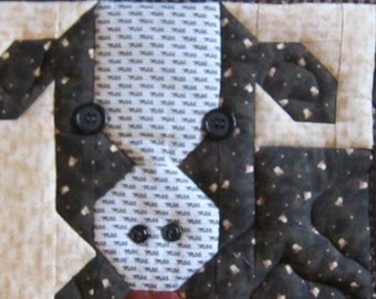 Quilted Cow Wall hanging