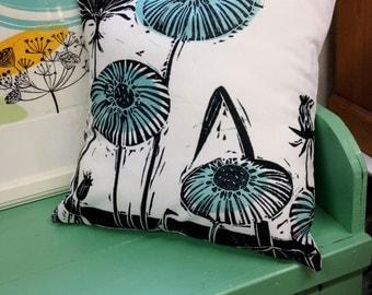 Dandelion Print Cushion Cover