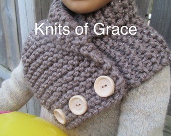 Tan Sparkle Snug as a Bug Cowl Scarf- Infant, Toddler, and Child sizes available