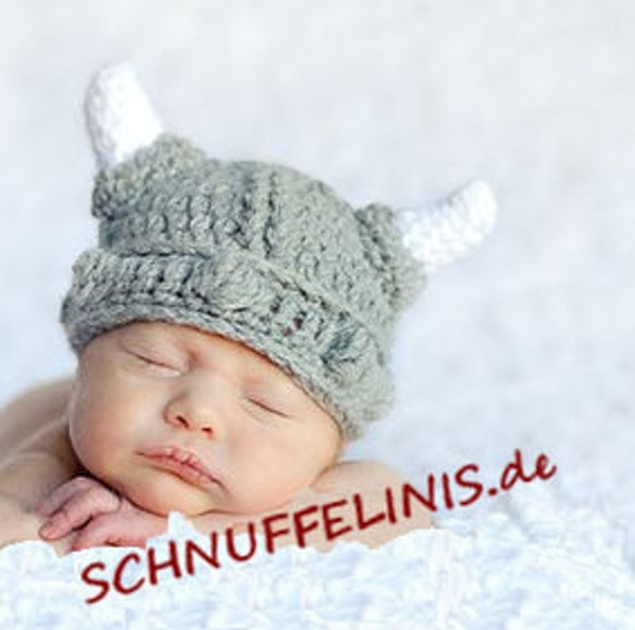 Wikinger mütze baby