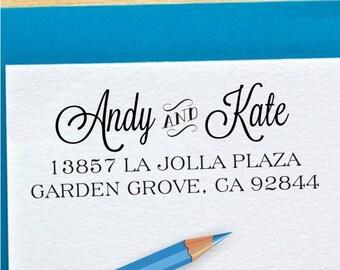 Return Address Stamp - Self Inking Address Stamp - Personalized Custom Address Stamp (053)