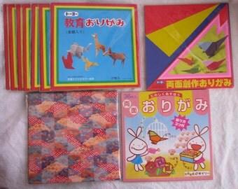 Origami Paper, Vintage Origami Paper