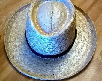 Vintage Stetson Straw Hat