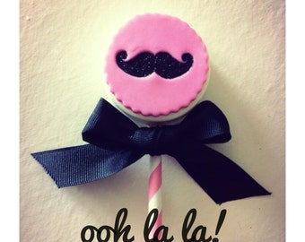Cowgirl Love Pop...6 Chocolate Covered Oreo Pops adorned with a little Cowgirl Glitter Love!