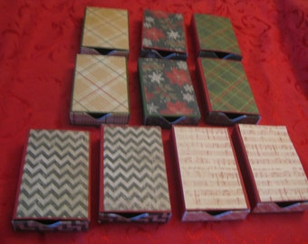 Set of 10 Gift Card Boxes