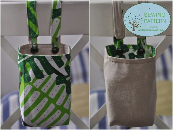 Reversible Fabric Hanging Baskets Fabric Hanging Organizers